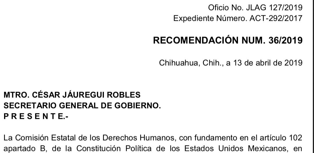 Gobierno de Corral violentó libertad de expresión de periodista: CEDH