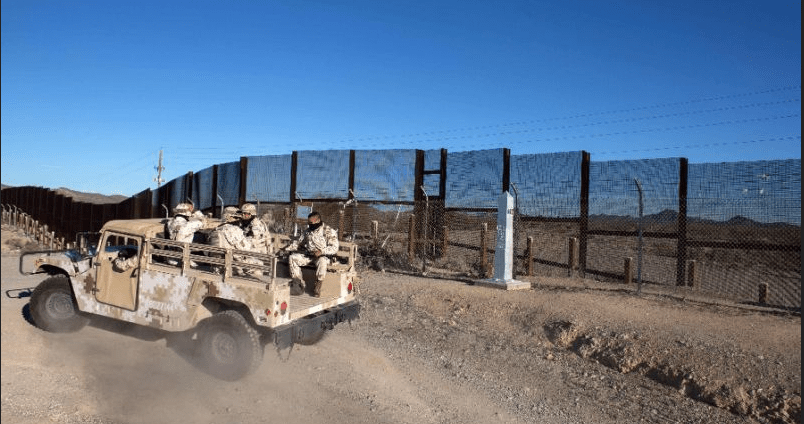 Envía EU más tropas a la frontera