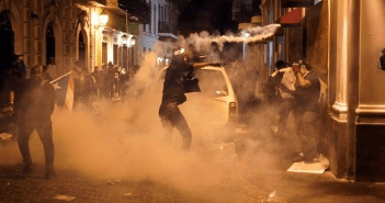 Disturbios en protesta contra gobernador de Puerto Rico