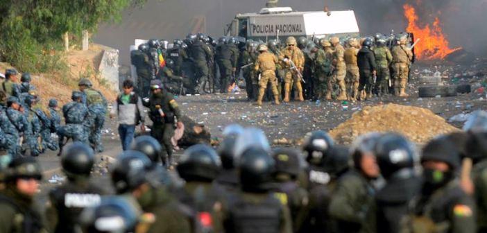 Dan carta de impunidad al Ejercito de Bolivia