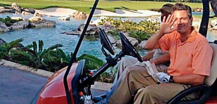 Cuando detuvieron a Emilio Lozoya, Peña Nieto jugaba golf