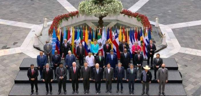 Con declaración contra bloqueo a Cuba, concluye cumbre Celac