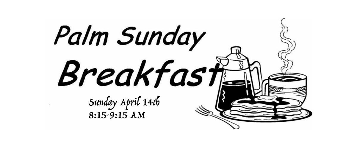 Palm Sunday Breakfast — Hilton Baptist Church