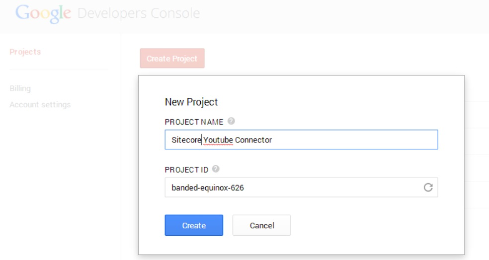 A Youtube Connector for Sitecore Media Framework Part 4 – Google Authentication (1/6)