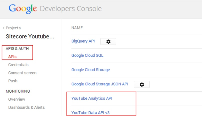 A Youtube Connector for Sitecore Media Framework Part 4 – Google Authentication (2/6)