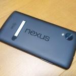 スマホ【nexus5】のwifiが繋がらない故障。