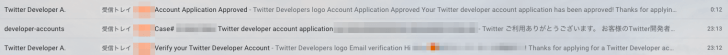 Twitter Developer Account Approved
