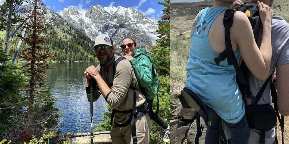 संसारकै नमुना जोडी- एक देख्न सक्दैनन् अर्की हिँड्न सक्दिनन् तरपनि हिमाल पहाड चढिरहेका छन् !