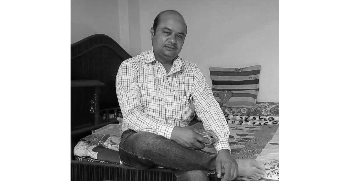 पर्वतमा बिजुलीको पोलबाट खसेर विद्युत प्राधिकरणका कर्मचारी शर्माको मृत्यु