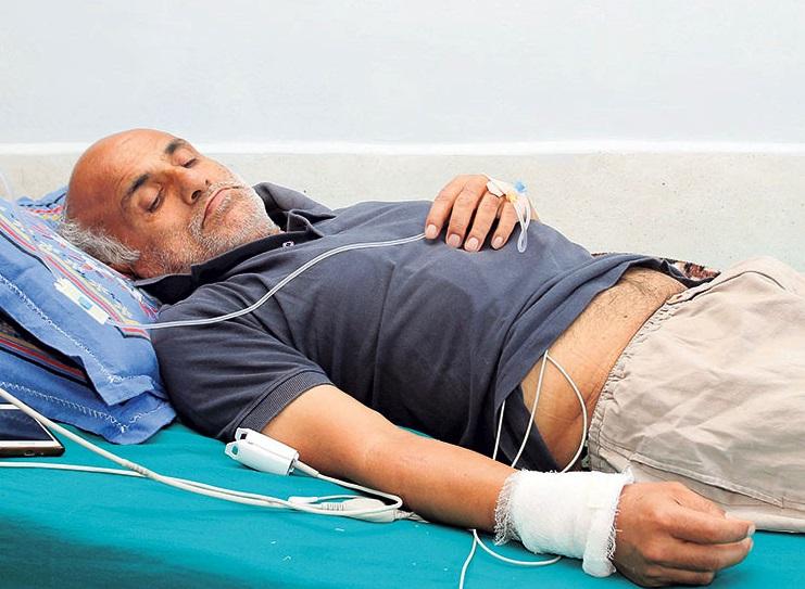 डा. केसीलाई कोरोना संक्रमण, अस्पताल भर्ना