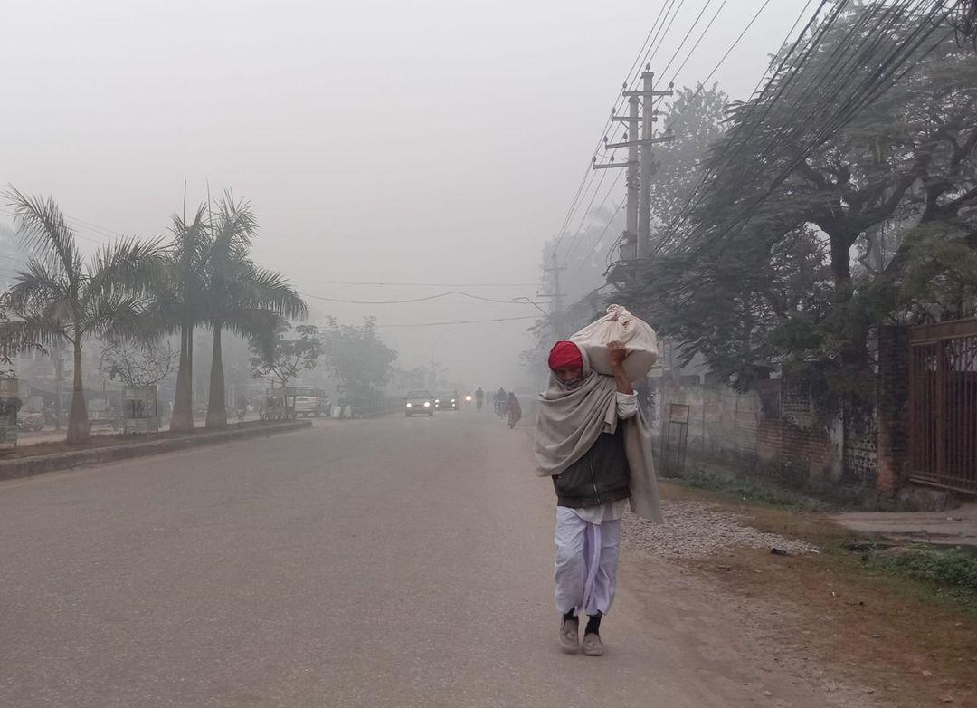 तराईका जिल्लामा अबको दुई हप्तासम्म बाक्लो हुस्सु