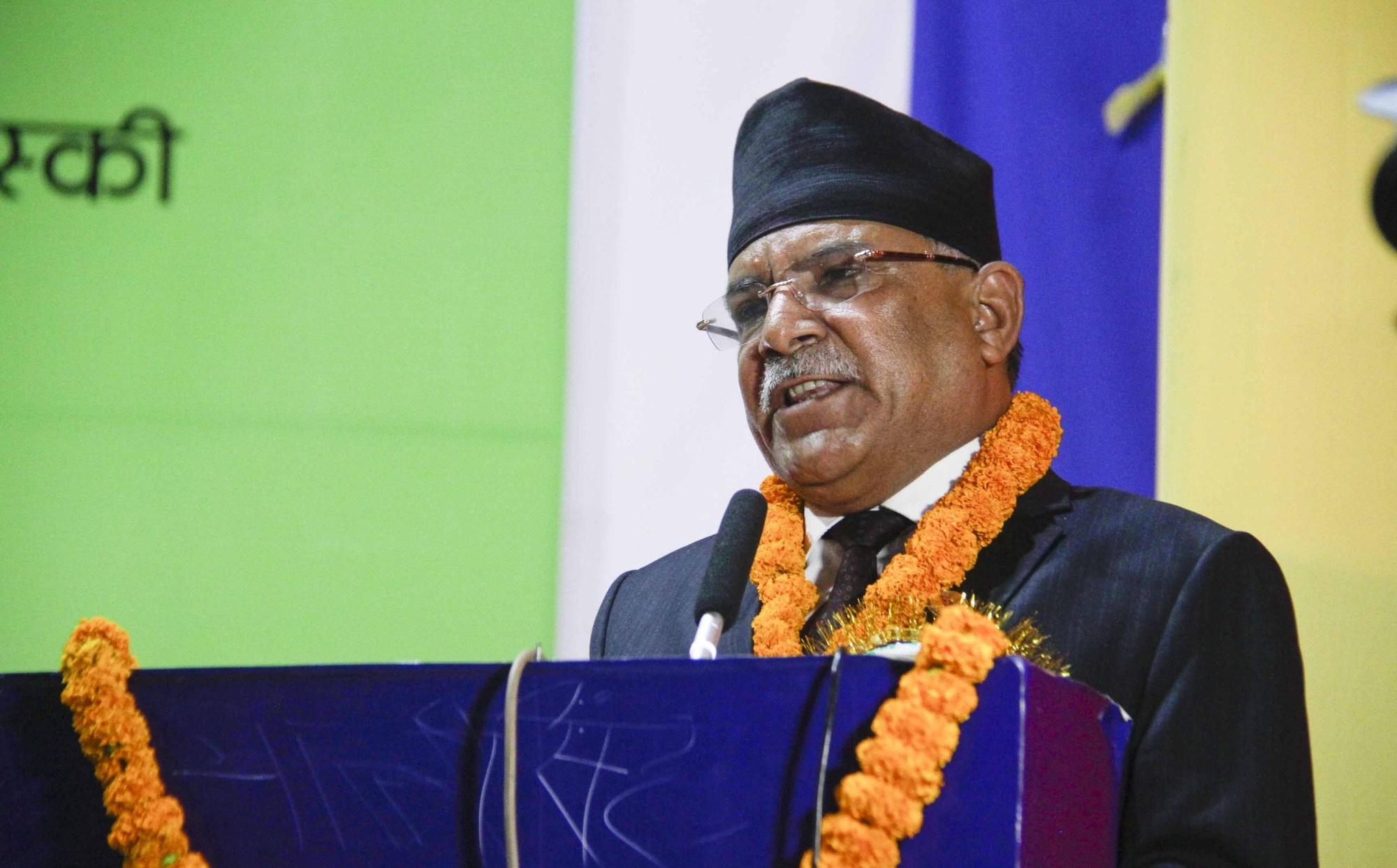 प्रचण्डको खुलासाः ओलीलाई प्रधानमन्त्री, अध्यक्ष र दल नेताबाट हटाउने तयारी थियो