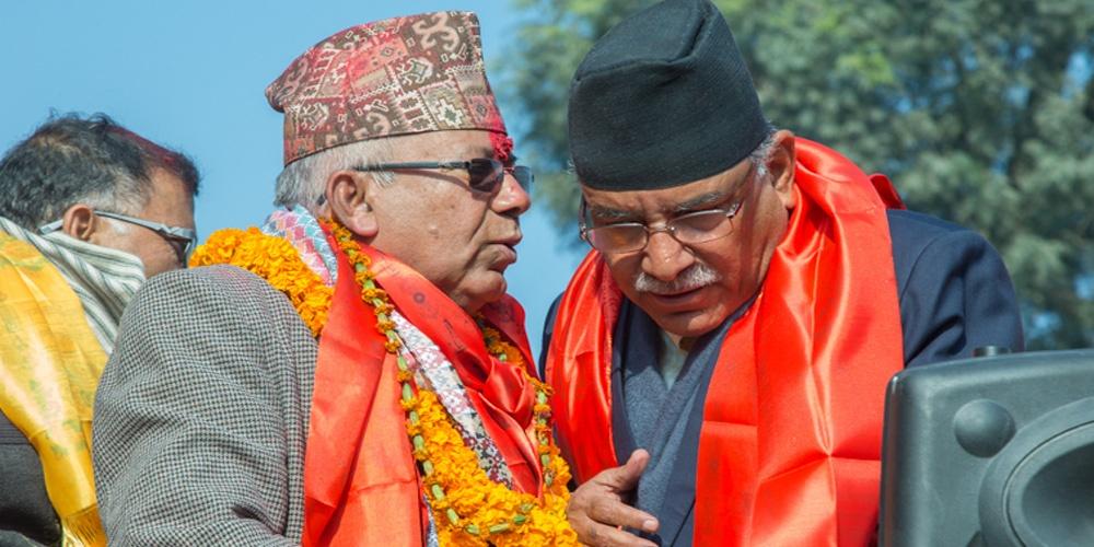 प्रचण्ड र माधव नेपाल कार्यकर्ता भेलालाई सम्बेधन गर्न पोखरा आउने