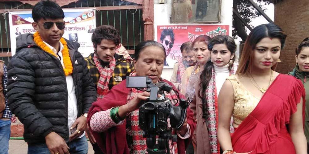 स्व. श्रीकृष्ण श्रेष्ठको आभास दिने प्रकाश फिल्ममा हिरो बन्दै