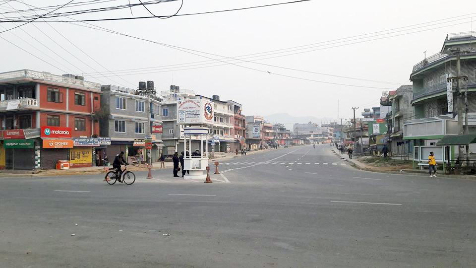 कास्कीमा १५ गते देखि निषेधाज्ञाः सवारी साधनमा जोड विजोर लागू