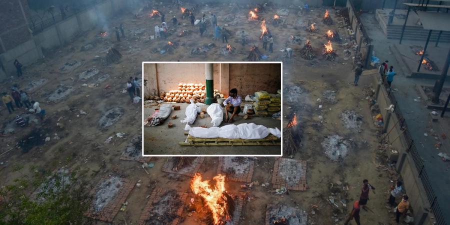 भारतमा पहिलो पटक एक दिनमै कोरोनाबाट ३ हजार बढीको मृत्यु
