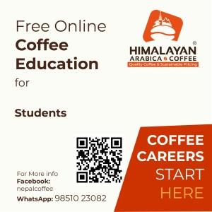free online coffee training for students in kathmandu nepal