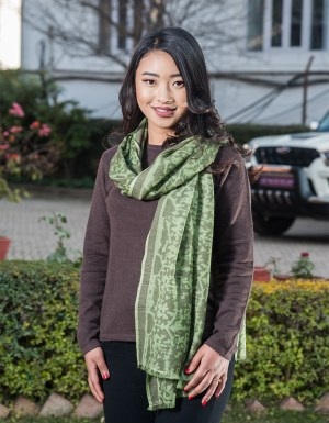 Cashmere Scarf Print