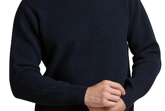 Cashmere sweater men