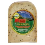 Cumin Gouda young age 200gm Wedge - artisan cheese made naturally in the Himalayas of Kashmir, India