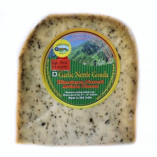 Mild Garlic Nettle Gouda Cheese