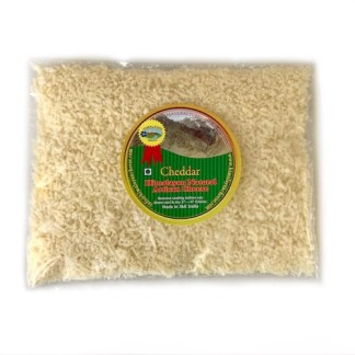 Grated natural artisan cheddar cheese 150g