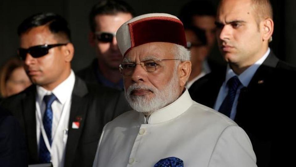 PM Modi's Cap in Israel Takes Himachal Art To World Platform