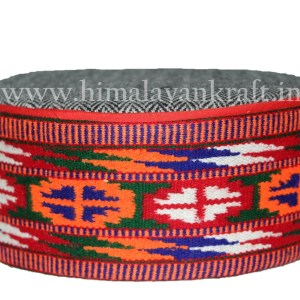 Himachal Cap (Topi)-Be a Pahari -Grey with Beautiful Patti-HimalayanKraft