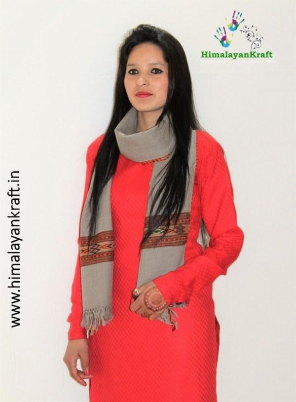 Stoles for Women : Buy Kullu Handloom Stole online At Best Price in India-www.himalayankraft.in