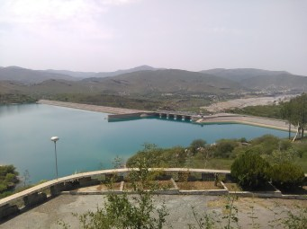 View from Khanpur Resthouse