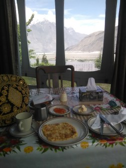 View from PTDC Skardu