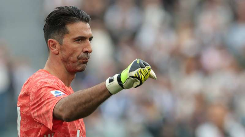 Buffon set a new record, becoming the most played player in Serie A.