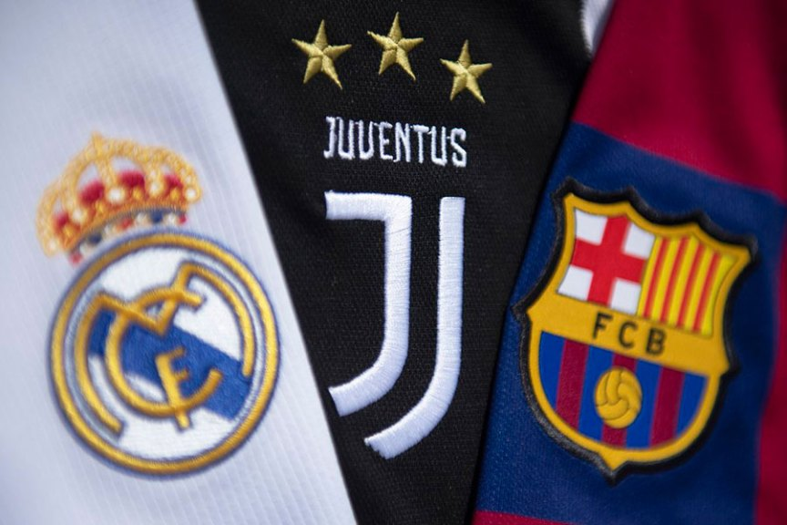 Real Madrid, Barcelona and Juventus have been targeted by UEFA