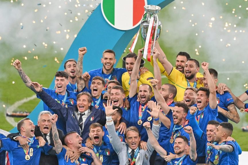 Italy second time champion, Euro Cup winner so far