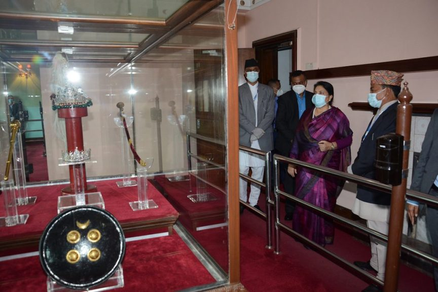 President's Informal Visit to Narayanhiti Museum for two and a half hours (Photo Feature)