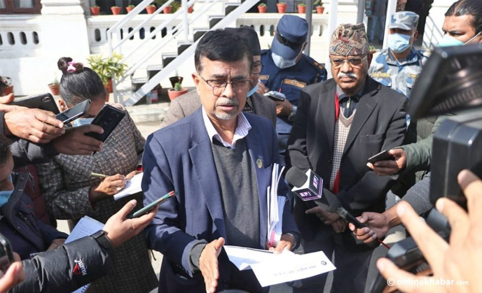 Rajendra Pandey claims to be Chief Minister of Bagmati