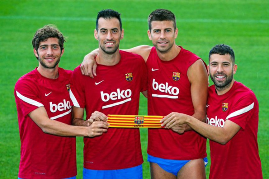 Sergio Busquets is the new captain of Barcelona