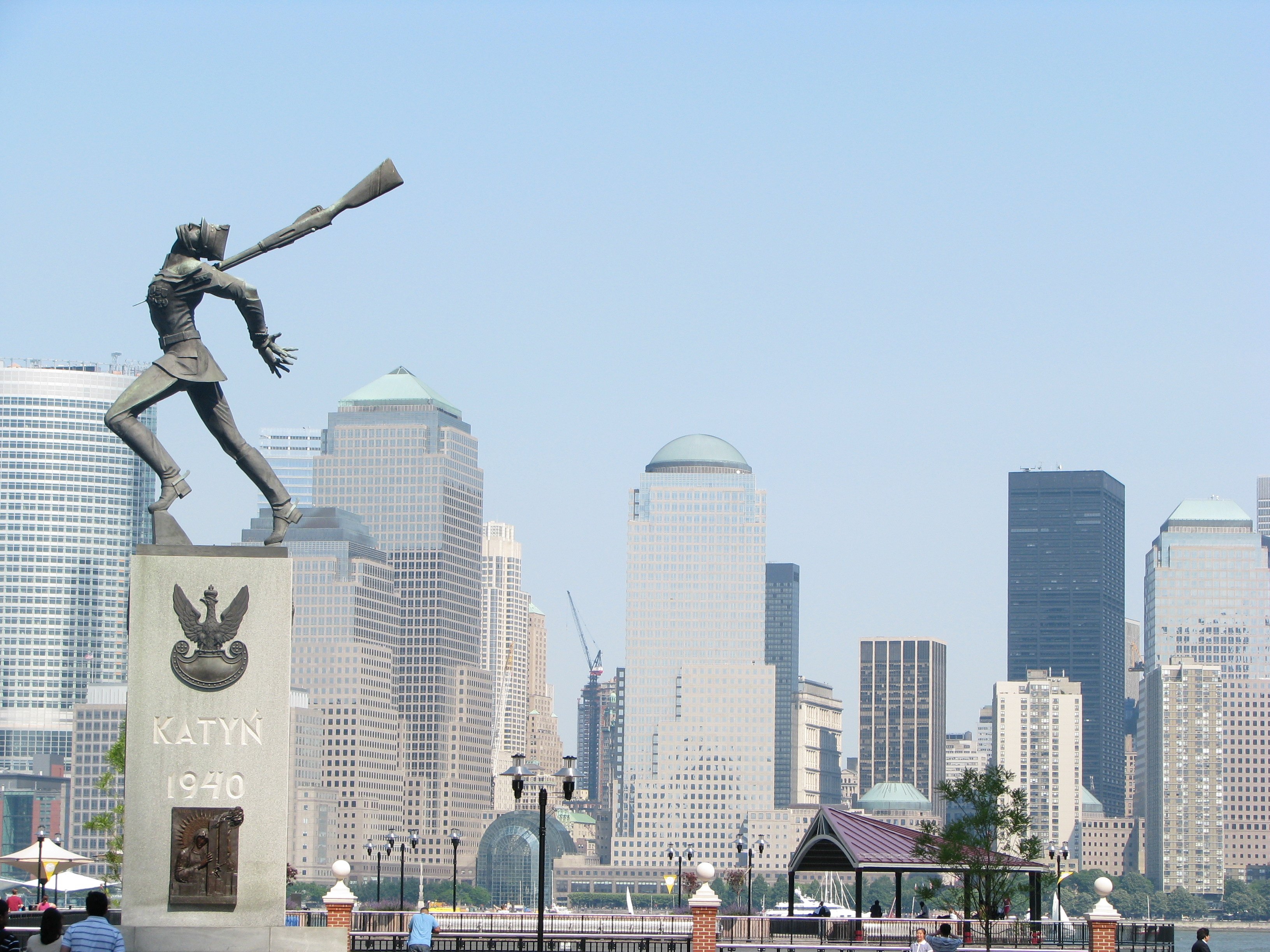 Downtown Manhattan from Jersey City