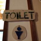 トイレの看板&男