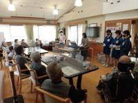地域に学ぶ中学生・体験活動トライやるウイーク
