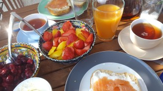 Breakfast first