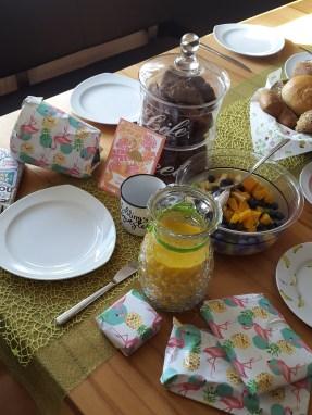 Geburtstagsfrühstück