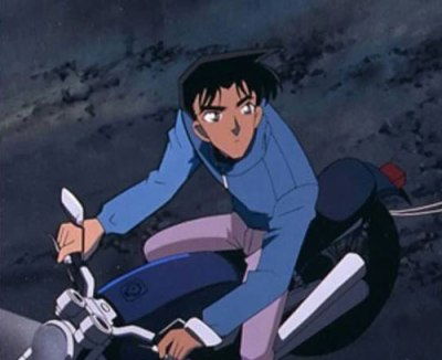 服部平次のバイク
