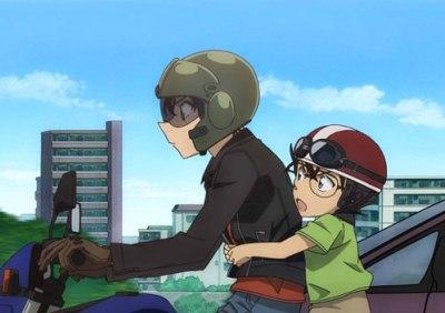 名探偵コナンのキャラクター愛用バイク