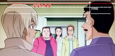【名探偵コナン】安室透の身長比較画像2