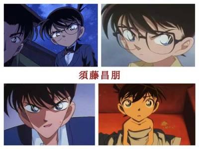 【名探偵コナン】作画監督別比較・須藤昌朋