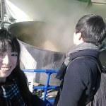 瀬戸内グルメフェス、巨大な鍋でつくる牡蠣鍋