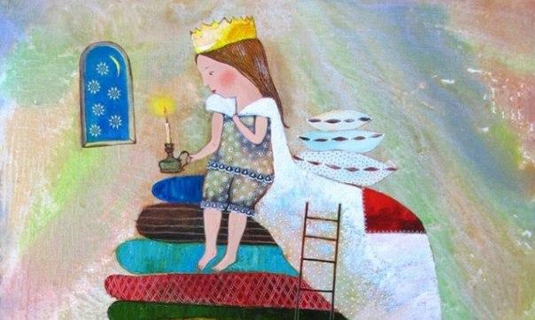 Приказка за принцесата и длетото