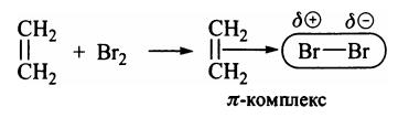 Реакции электрофильного присоединения к алкенам бромирование алкенов