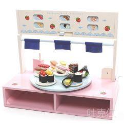 Wood Kitchen Playsets Floor Mats Walmart Mother Garden草莓旋转寿司木制儿童过家家仿真厨房玩具 价格 厂家 中国